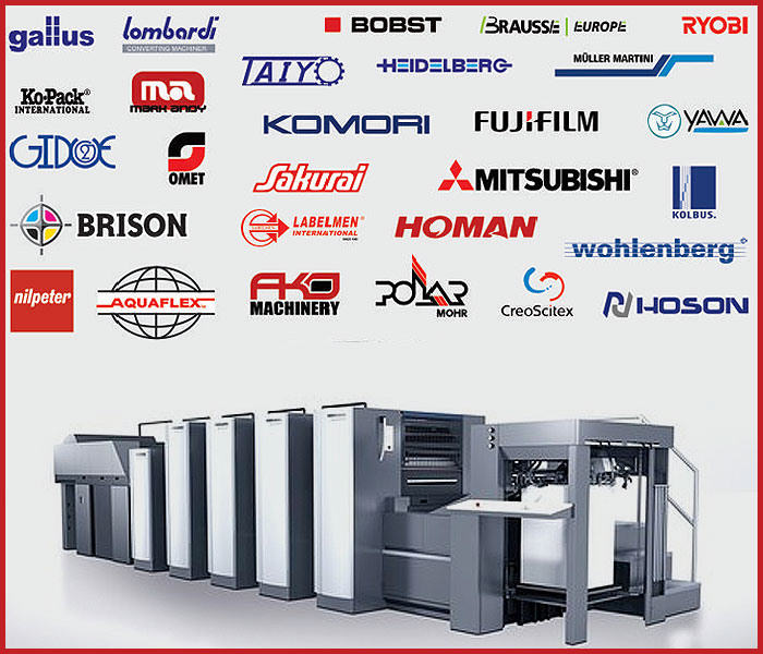 Used printing machinery suppliers